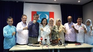 Maria Chin to contest under PKR banner in GE14