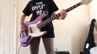 Teenage dream- 5sos bass cover with tabs