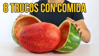 8 amazing tricks with food to impress (COLLECTION)