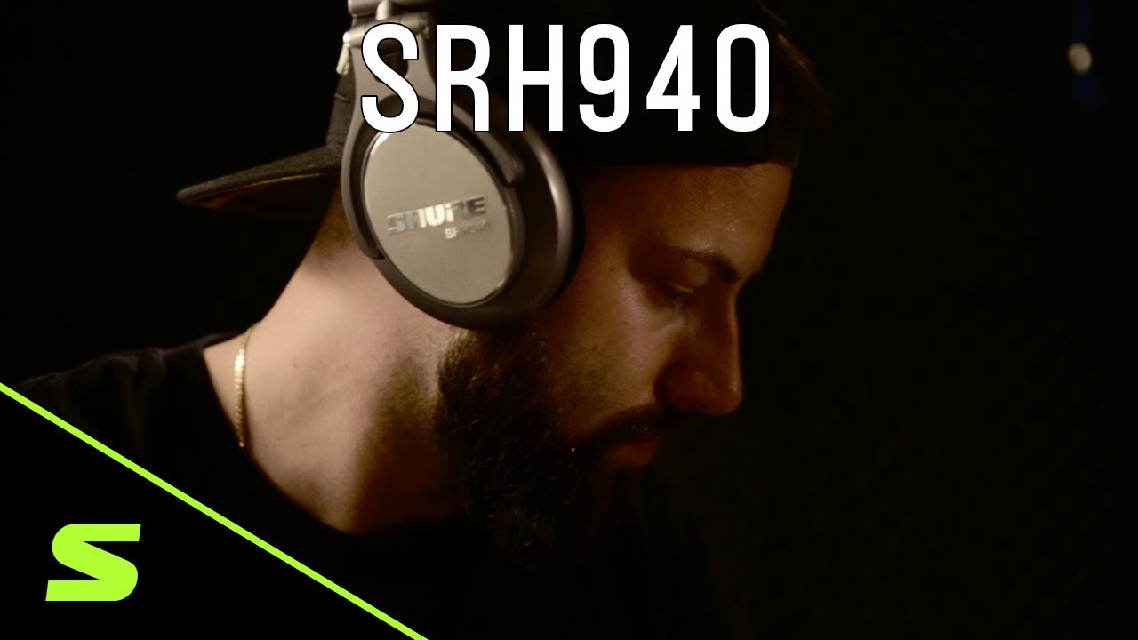 Shure Headphones: SRH940
