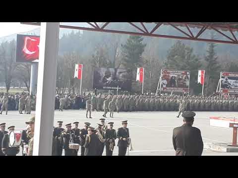 Amasya 1999-1Devre ve 374 K.D Askerlerin Yemin Töreni -15.Piyade Egitim Tugayi -22.02.2019 Part-1