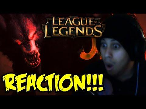 League of Legends Warwick: The Wrath of Zaun Champion Teaser REACTION!!!
