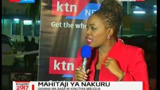 Mahitaji ya Nakuru-katika mdahalo ya wagombea ugavana wa Nakuru