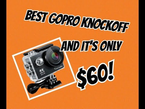 Tocode H9R Unbox & Review. Best GoPro knockoff is only $60!
