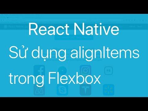 09-Sử dụng thuộc tính alignItems trong Flexbox