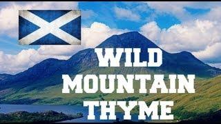 ♫ Wild Mountain Thyme - Sarah Calderwood ♫ LYRICS