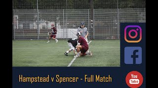 Hampstead v Spencer South of England Men's Lacrosse Premier Division