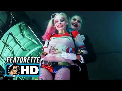 SUICIDE SQUAD Extended Cut - Joker & Harley Couple Footage (2016) Margot Robbie, Jared Leto Movie HD