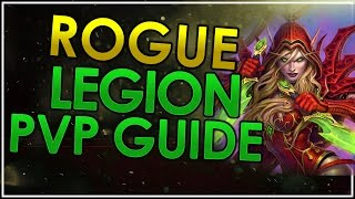 Outlaw Rogue PvP Guide Legion 7.1.5 - World of Warcraft: Legion 7.1.5