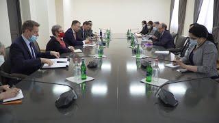ԱԳ նախարար Արա Այվազյանի հանդիպումը Հարավային Կովկասի և Վրաստանում ճգնաժամի հարցերով ԵՄ հատուկ ներկայացուցիչ Տոյվո Կլաարի հետ