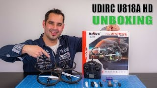UdiRC U818A HD #01 - Unboxing
