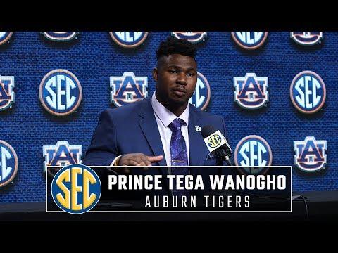 Auburn's Prince Tega Wanogho talks Tiger quarterback battle, summer conditioning