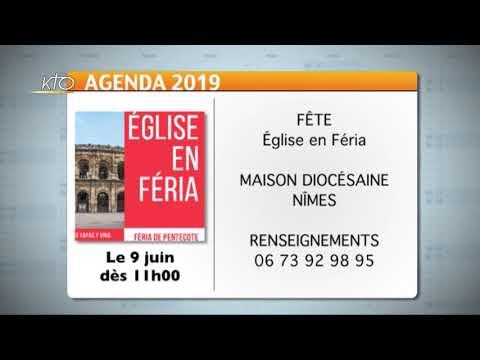 Agenda du 13 mai 2019
