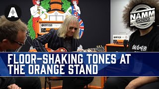 Making the Floor Shake with Orange Terror Stamp & Bass Butler - NAMM 2020