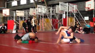 Reese at Cornell University Fall Youth Wrestling Championships