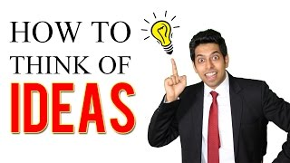 How to think of IDEAS : Public Speaking Skills - 4