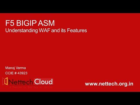 F5BIGIP ASM(WAF) Training Video with Live Demo- PART 1 ...