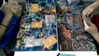 preview picture of video 'YUGIOH Ranking Tournament (5/10/14)Final Hero VS Infernity PART=1'