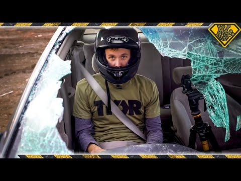Download Can You REALLY Kick Out a Car Windshield? HD Mp4 3GP Video and MP3