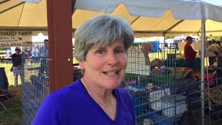 Kim Harrison, shepherd and weaver of Ruxville Farm