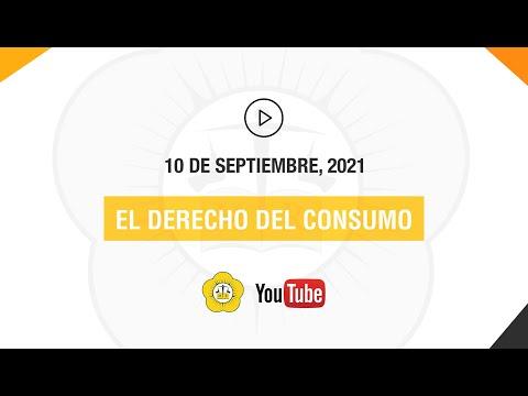 EL DERECHO DEL CONSUMO - 10 de Septiembre 2021
