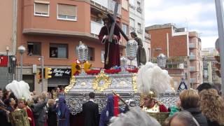 preview picture of video 'Procesiones Semana Santa 2013 youtube Cristo - Procesion Laica Hospitalet de Llobregat'