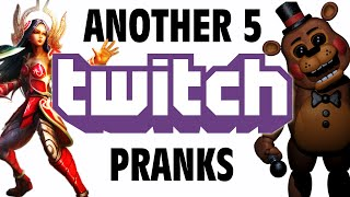 Another 5 Twitch Pranks - GFM