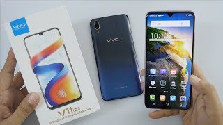 Vivo V11 (V11 Pro) with In display Fingerprint Unboxing & Overview