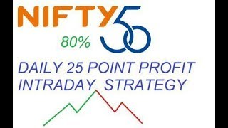 nifty  trading strategy for intraday earn daily 25 to 30 point in nifty 75 to 80 % accurate | HINDI