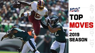 Top Moves of the 2019 Season! (Spins, Stiff Arms, Hurdles & More)