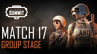FACEIT Global Summit - Day 3 - Group Stage - Match 17 (PUBG Classic)