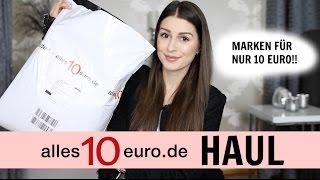 ALLES 10 EURO HAUL l MARKEN KLEIDUNG FÜR NUR 10€