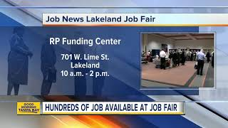 Hundreds Of Jobs Available At Job News USA's Lakeland Job Fair On Thursday