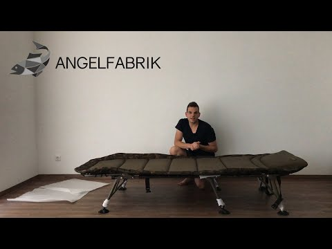 Die beste Karpfenliege! - Fox R3 Camo Bedchair XL Review / Test