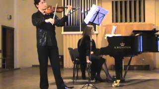 I. Taranenko Sonata for violine and piano
