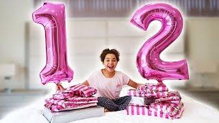 TIANAS 12th BIRTHDAY MORNING OPENING PRESENTS!!
