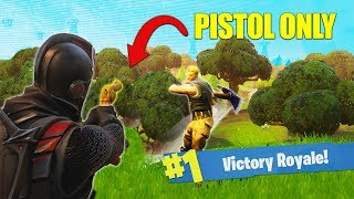 The Pistol Only Challenge [Fortnite]