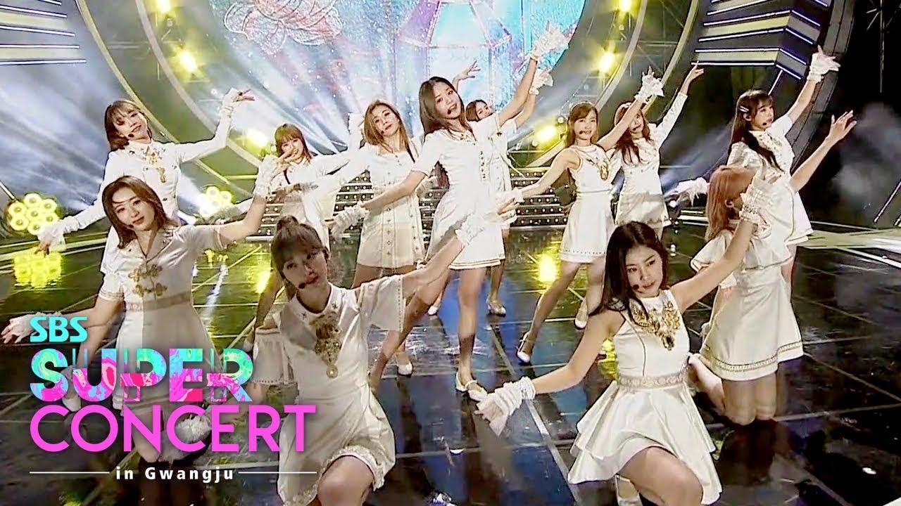 IZONE - Intro + Violeta + Up [SBS Super Concert in Gwangju Ep 2