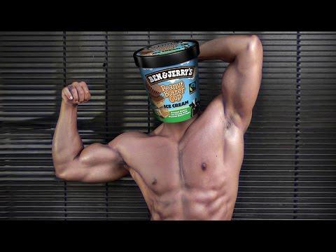 Le bodybuilding de lentraînement sur la masse de vidéo
