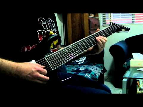 ESP Stef B8 - Deftones - The Boy's Republic Guitar Cover