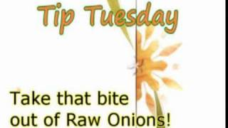 Take the Bite Out of Raw Onions   Show Me The Curry Tip Tuesday