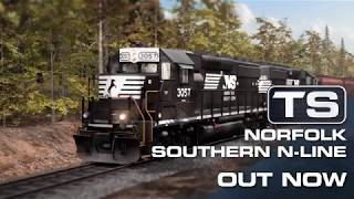 VideoImage1 Train Simulator: Norfolk Southern N-Line Route Add-On