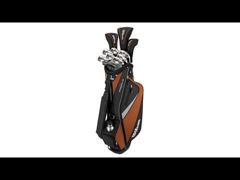 Senior's Golf Club Set w/ Cart Bag | Wilson WGGC23900