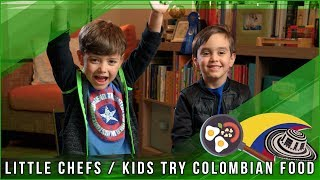 Andres Lucas World - Kids Try Colombian Food