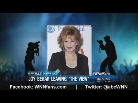 Joy Behar to Leave