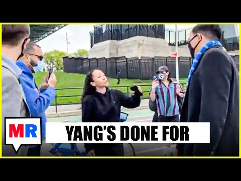 Andrew Yang Blows It BIG TIME, Confronted In Streets