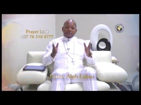 Pastor Alph LUKAU praying for you 2016