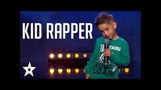 KID RAPS ''SAD'' XXXTENTACION AND GETS GOLDEN BUZZER ON GOT TALENT