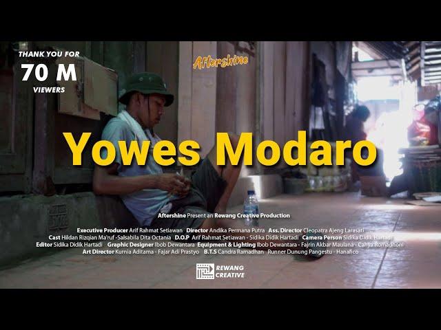 Yowes Modaro - Aftershine ft. Damara.de (Official Music Video)