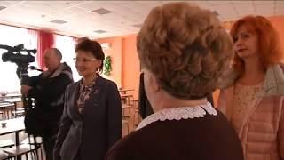 Ирина Хмелевская проверила состояние социальных объектов в Поныровском районе